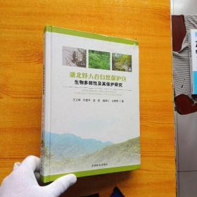 湖北野人谷自然保护区生物多样性及其保护研究  精装【内页干净 书品以图片为准】