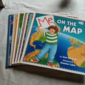 Me and My Place in Space,  Me and My amazing boy ,Me and My family tree,and the measure of things counting time on the map  英文原版 6册全