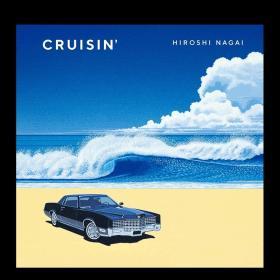 CRUISIN' 永井博作品集 进口日文原版 画师插画 广告海报唱片CD封面 视觉设计 平面设计 插画艺术收藏
