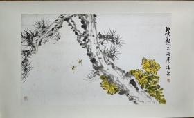 草虫圣手  潘君诺 绘 78/47cm保真