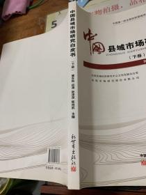中国县域市场研究白皮书. 2011版  下册  16开