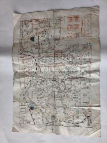 上海市交通图(1962.油印版)