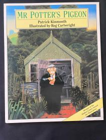 Mr potter's pigeon 平装 复古绘本 1992年出版于伦敦 香港印制 儿童英文绘本 原版绘本 九成新 童书