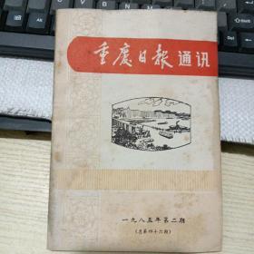 重庆日报通讯 19865第二期