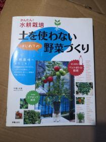 水耕栽培 不用土蔬菜种植(日文)具体书名看封面