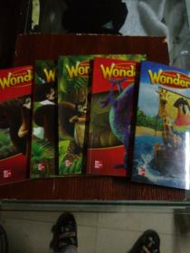 小学阅读教材MCGraw-Hill Reading Wonders5本合售