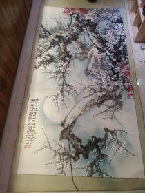 手绘画(画心 172X 88)