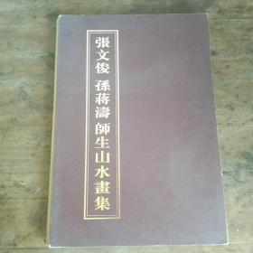 张文俊孙蒋涛师生山水画集
