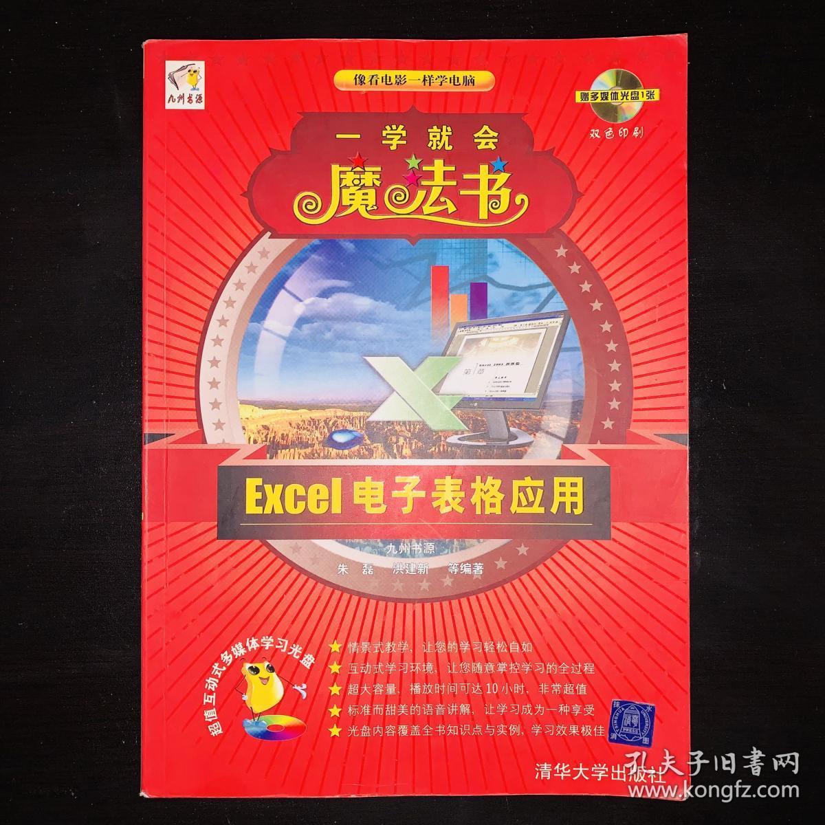 一学就会魔法书:Excel电子表格应用(双色印刷)