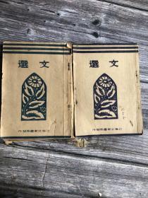《文选》民国上海北新书局 (买一本送一本:一本完好,一本有严重虫蛀此为赠送)