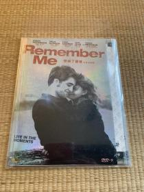 DVD/惊动了爱情/又名:记住我。RememberMe/Live In The Moments