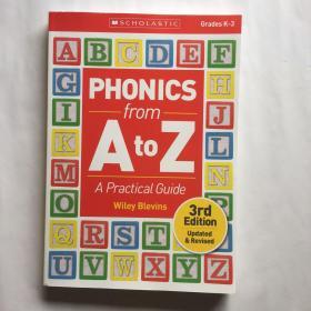 自然拼读法使用指南 从A到Z 英文 Phonics from A to Z Pract  Grades K-3