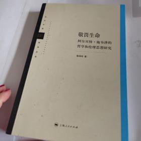 当代中国哲学丛书:敬畏生命(阿尔贝特·施韦泽的哲学和伦理思想研究)