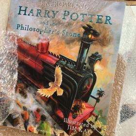 Harry Potter and the Philosopher's Stone 英国彩绘版 哈利波特与魔法石 精美绘本插图 大16开精装