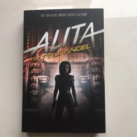 英文原版  Alita: Battle Angel - The Official Movie Novelization
