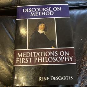 Discourse on method ——- meditation on first philosophy