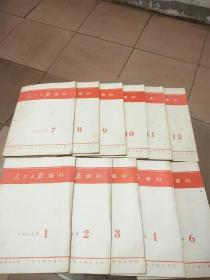 人民日报索引 1977年1-12