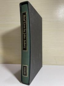 Brief Lives by Hohn Aubrey ,  Folio Society 出版,有书匣