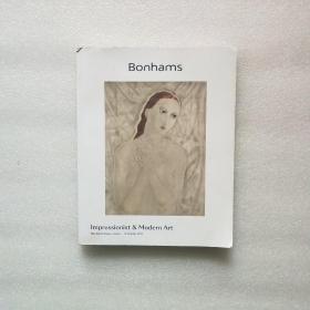 Bonhams lmpressionist Modern Art 2019(书角有破损)如图