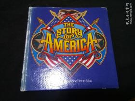 The Story of America: A National Geographic Picture Atlas 0870445081 英文原版精装本