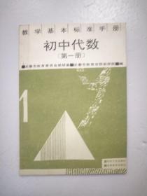 教学基本标准手册 初中代数 第一册
