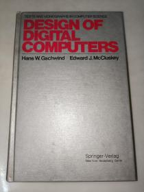 DESIGN  OF  DIGITAL  COMPUTERS 数字计算机的设计  精装  签名