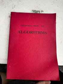 英文原版INTRODUCTION TO ALGORITHMS (影印本)算法导论