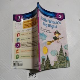 Step into Reading Little Witch's Big Night 小魔女的大夜晚