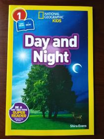 National Geographic Readers: Day and Night【正版全新】