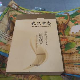 武汉市志简明读本 一版一印