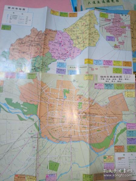 锦州市地图,锦州市商务地图(二)