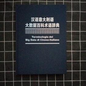汉语意大利语大数据百科术语辞典