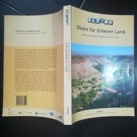 Desire for Greener Land  Options for Sustainable Land Management in Drylands