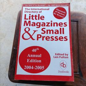 The International Directory Of Little Magazines And Small Pr