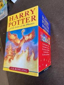 Harry Potter Pbk Boxed Set     哈利波特英文原版小说套装 1-5合售 bloomsbury