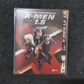X战警 升级版 DVD9  光盘 碟片未拆封 外国电影 (个人收藏品) 内封套封附件全