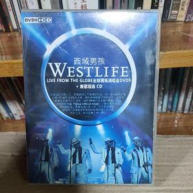 西域男孩—全球现场演唱会+新歌精选正版1CD+1DVD—店铺(只发快递)
