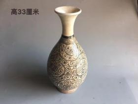 宋代磁州窑玉壶春瓶