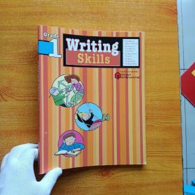 Writing Skills   Grade 1    大16开【扉页有字迹  内页干净】