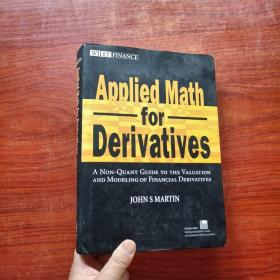 Applied Math For Derivatives(精装)