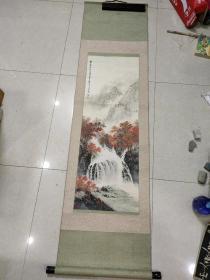 景德镇名家  邵天宝 山水画(画心96 x 34)