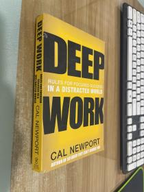 Deep Work  Rules for Focused Success in a Distra