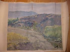 郑梵,鲁迅美术学院,纸本油画