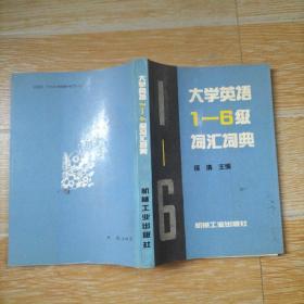 大学英语1-6级词汇词典