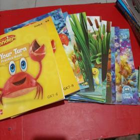 McGraw-Hill Reading Wonders Unit1-10/Start Smart /Your Turn Practice Book  GK1-6 7-9【13本和售】