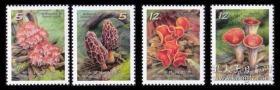特593野生菇邮票(3)4全  2013年   原胶全品