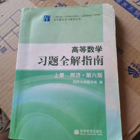 高等数学习题全解指南 上册:同济·第六版