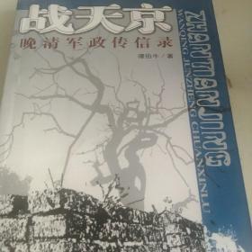 战天京:晚清军政传信录