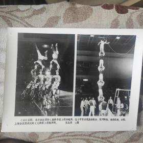 1984年,上海杂技团的《大跳板》获银牌,北京杂技团《自行车集体车技》获银牌