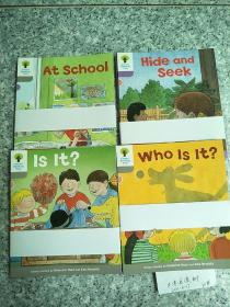 oxford reading tree  (At School 6册,Hide and Seek 6册,Is It? 6册,Who Is It? 6册)24册 和售   原版  库存【牛津阅读树】
